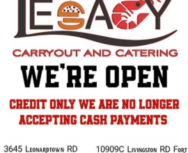 Legacy Carryout & Catering